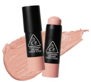 8. 3CE CREAMY CHEEK STICK腮紅棒 #LOVE CRAFT/7g