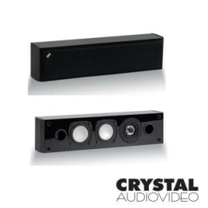 8. CRYSTAL AUDIOVIDEO LCR中置揚聲器